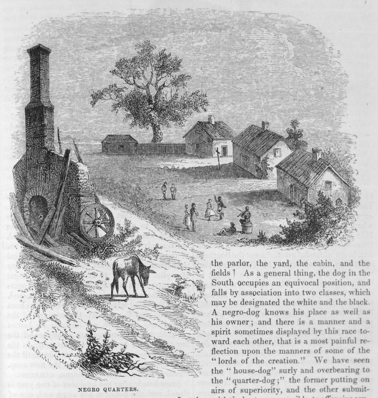 This engraving shows several slave houses with chimneys and small group of people dancing in front in Louisiana. Harper's Magazine (also called Harper's) is a monthly magazine of literature, politics, culture, finance and the arts.