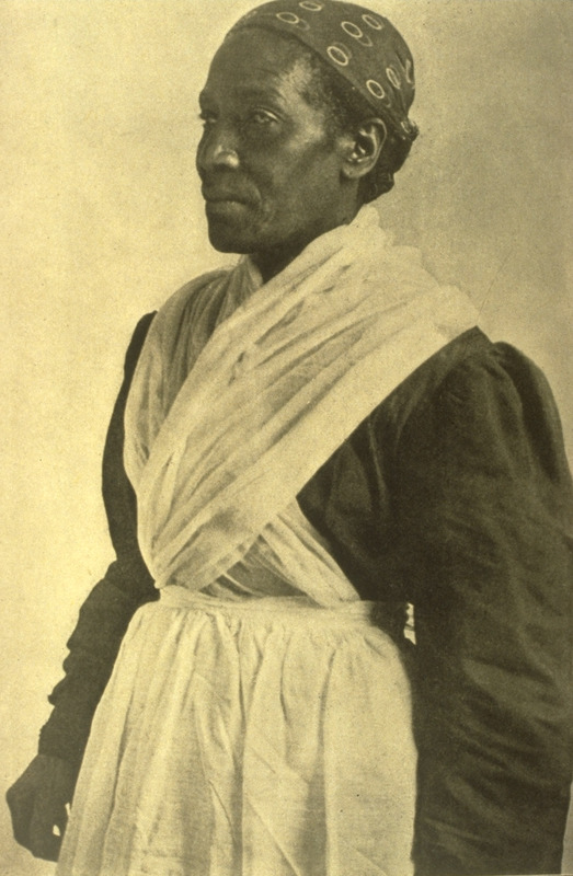 Born a slave at Faunsdale plantation, Flood went to Washington with her husband after the Civil War, but returned to Faunsdale and is now the nurse to her former mistress's great-grandchildren (Matthews).